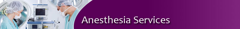 Anesthesia-Services